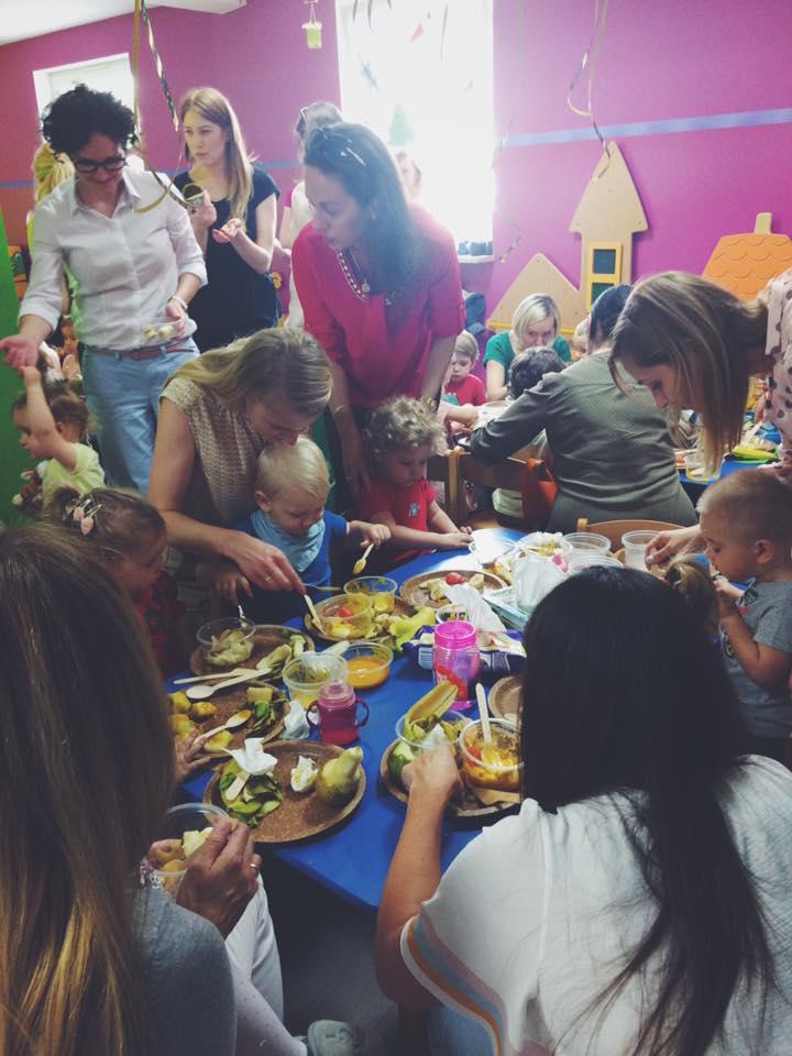 Warsztaty z Okazji Dnia Mamy i Taty w Jagodowej Krainie