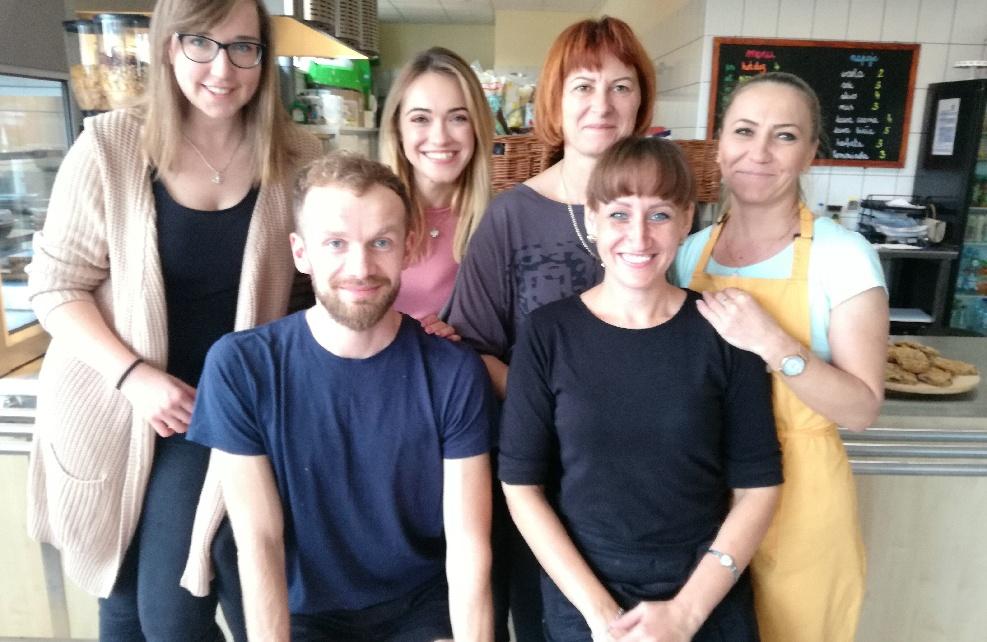 Kawiarenka Szkolna Lemoniada - wrzesień 2018 - działamy!